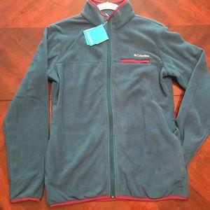 COLUMBIA Fleece Full Zip NWT